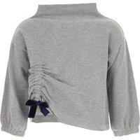 Il Gufo Kids Sweaters for Girls, Grey, Cotton, 2019, 10Y 3Y 4Y 5Y 6Y