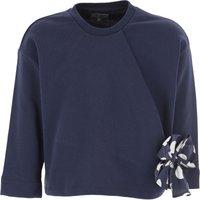 Il Gufo Kids Sweaters for Girls On Sale, Blue, Cotton, 2019, 10Y 2Y 4Y 6Y 8Y