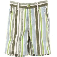 Il Gufo Kids Shorts for Boys On Sale, Green, Cotton, 2017, 4Y 8Y
