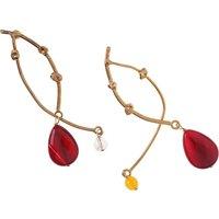 Iron By Miriam Nori Earrings for Women On Sale, Bronze, Bronze, 2019