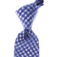 Isaia Ties On Sale, Electric Blue, Silk, 2019