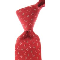 Isaia Ties On Sale, coral red, Silk, 2019