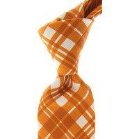 Isaia Ties On Sale, Orange, Cotton, 2019