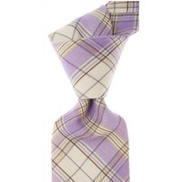 Isaia Ties On Sale, Lilac, Cotton, 2019