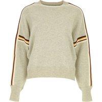 Isabel Marant Sweater for Women Jumper On Sale, Grey Light, Cotton, 2019, 10 8