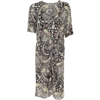 Isabel Marant Dress for Women, Evening Cocktail Party On Sale, Black, Viscose, 2019, 10