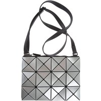 Issey Miyake Shoulder Bag for Women On Sale, Metallic Silver, PVC, 2019