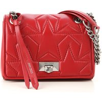Jimmy Choo Shoulder Bag for Women On Sale in Outlet, Red, Leather, 2021