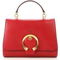 Jimmy Choo Top Handle Handbag, Red, Leather, 2019