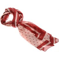 Jimmy Choo Scarf for Women On Sale, Red, Silk, 2017