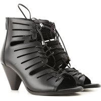 Janet & Janet Sandals for Women On Sale, Black, Leather, 2019, 3.5 6.5 7.5