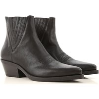 Janet & Janet Boots for Women, Booties On Sale, Black, Leather, 2019, 3.5 4.5 7.5