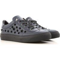 Jimmy Choo Sneakers for Men On Sale, Dark Blue, Leather, 2019, 6.5 7 7.5 8 8.5 9 9.25 9.5