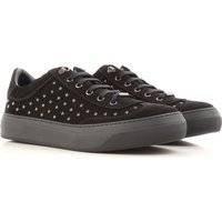 Jimmy Choo Sneakers for Men On Sale in Outlet, Black, Suede leather, 2019, 6.5 6.75 7 7.5 8 8.5 9.5