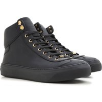 Jimmy Choo Sneakers for Men On Sale in Outlet, Black, Leather, 2019, 9.25 9.5