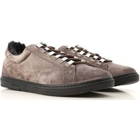 Jimmy Choo Sneakers for Men, Smoke, Suede leather, 2019, 6.5 7 7.5 8 8.5 9