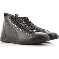 Jimmy Choo Sneakers for Men, Black, Leather, 2017, 6.5 6.75 7 7.5 8 8.5 9 9.25 9.5