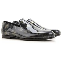 Jimmy Choo Slip on Sneakers for Men On Sale in Outlet, Black, Leather, 2019, 5.5 6.5 6.75