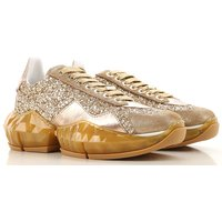 Jimmy Choo Sneakers for Women On Sale, Goldie Mix, Leather, 2019, 3 3.5 4 4.5 5.5 6.5 7.5