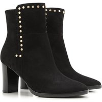 Jimmy Choo Boots for Women, Booties On Sale in Outlet, Black, Suede leather, 2019, 3.5 7.5