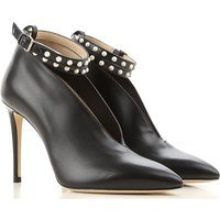 Jimmy Choo Boots for Women, Booties, Black, Leather, 2019, 3.5 4.5 7.5