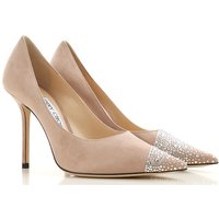 Jimmy Choo Womens Shoes On Sale in Outlet, Nude, suede, 2019, 5.5 6 6.5