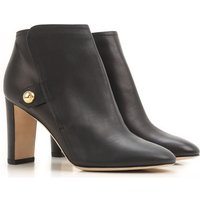 Jimmy Choo Boots for Women, Booties On Sale in Outlet, Black, Leather, 2017, 3.5 7.5
