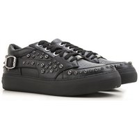 Jimmy Choo Sneakers for Men On Sale in Outlet, Black, Leather, 2019, 5.5 8