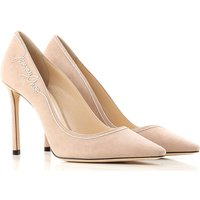 Jimmy Choo Pumps & High Heels for Women, ballet pink, Suede leather, 2019, 3.5 4 4.5 5.5 6 6.5 7 7.5