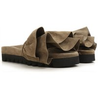 Joshua Sanders Sandals for Women On Sale, Military, Suede leather, 2017, 3.5 4.5 5.5 7.5
