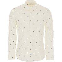 Kenzo Shirt for Men, White, Cotton, 2019, 15.5 15.75 16 16.5