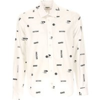 Kenzo Shirt for Men On Sale, White, Cotton, 2017, L M XL