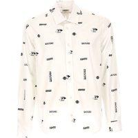 Kenzo Shirt for Men On Sale, White, Cotton, 2019, L XL