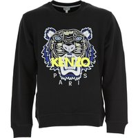 Kenzo Sweatshirt for Men, Black, Cotton, 2017, S XL