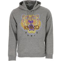 Kenzo Sweatshirt for Men On Sale, Anthracite, Cotton, 2019, L M S XL