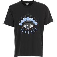 Kenzo T-Shirt for Men, Black, Cotton, 2019, L XL XS XXL