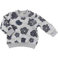 Kenzo Baby Sweatshirts & Hoodies for Boys On Sale, Grey, Cotton, 2019, 12M 18M 2Y 6M 9M