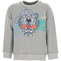 Kenzo Kids Sweatshirts & Hoodies for Boys On Sale, Grey, Cotton, 2019, 10Y 12Y 14Y 2Y 3Y 4Y 5Y 6Y 8Y