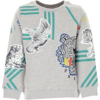 Kenzo Kids Sweatshirts & Hoodies for Boys On Sale, Grey, Cotton, 2019, 10Y 12Y 14Y 2Y 4Y