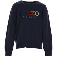 Kenzo Kids Sweaters for Boys On Sale, Blue, Cotton, 2019, 10Y 12Y 2Y 4Y 5Y 6Y 8Y