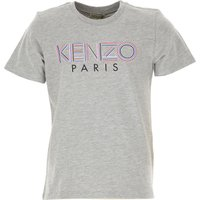 Kenzo Kids T-Shirt for Boys, Grey, Cotton, 2019, 10Y 12Y 14Y 3Y 4Y 6Y 8Y