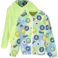 Kenzo Kids Jacket for Boys On Sale, Fluo Green, polyester, 2019, 10Y 12Y