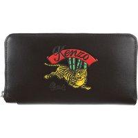 Kenzo Wallet for Women On Sale, Black, Leather, 2019