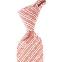 Kiton Ties On Sale, Brick Red, Silk, 2021