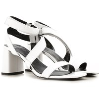 Kendall Kylie Sandals for Women On Sale in Outlet, White, Leather, 2019, 3 3.5 4 4.5
