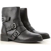 Kendall Kylie Boots for Women, Booties On Sale in Outlet, Black, Leather, 2019, 3 3.5 4 4.5