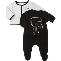 Karl Lagerfeld Baby Sets for Boys On Sale, Black, Cotton, 2019, 1M 3M