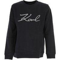 Karl Lagerfeld Sweatshirt for Men On Sale, Black, Cotton, 2017, S XXL