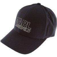 Karl Lagerfeld Hat for Women, Dark Blue, Acrylic, 2019