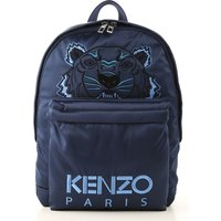 Kenzo Backpack for Men, Dark Blue, Cotton, 2019